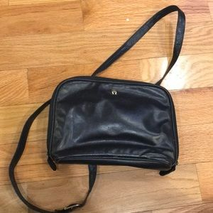 Aigner shoulder bag with zip around 3 sides